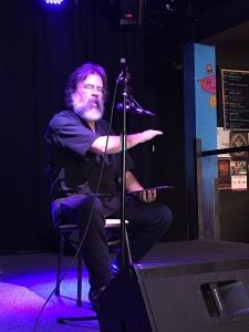 Jim at a reading
